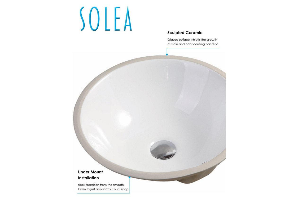 Safavieh Nerida Porcelain Ceramic Vitreous Round Bathroom Sink Ashley Furniture Homestore