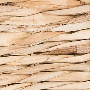 Safavieh Keenan 6 Wicker Basket Storage Chest, Distressed White, large