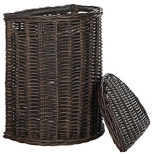 Safavieh Manzu Wicker Hamper, , large