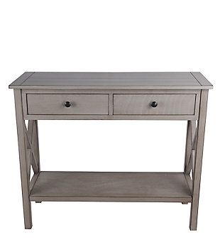 Privilege 2 Drawer Console Table, , large