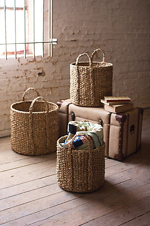 Home Accents Basket (Set of 3), , rollover