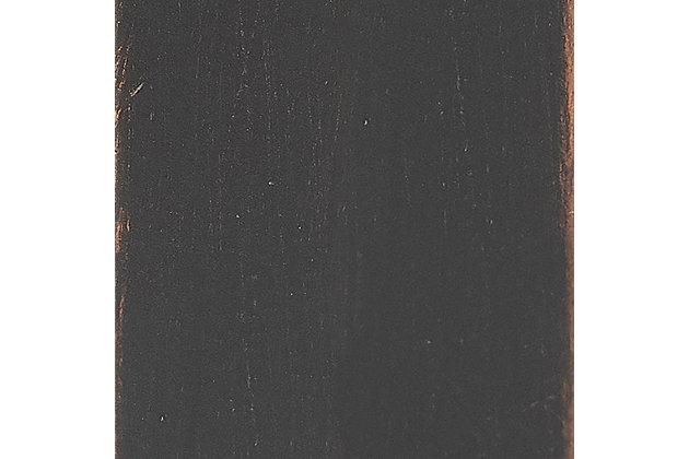 Crosley Aimee Short Etagere, Oil Rubbed Bronze, large
