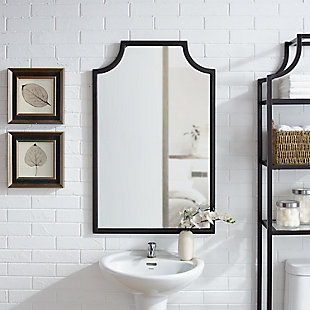 Crosley Aimee Bath Mirror, Oil Rubbed Bronze, rollover