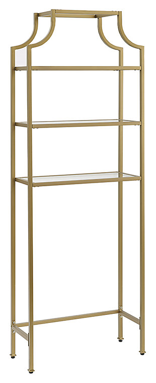 Crosley Aimee Space Saver, Gold, large