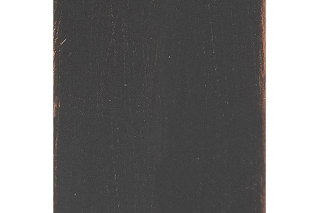 Crosley Aimee Wall Shelf, Oil Rubbed Bronze, large
