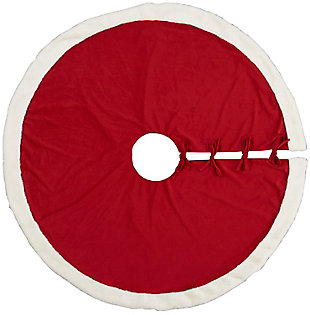 Christmas Mina Victory Home For The Holiday Tree Skirt, , large