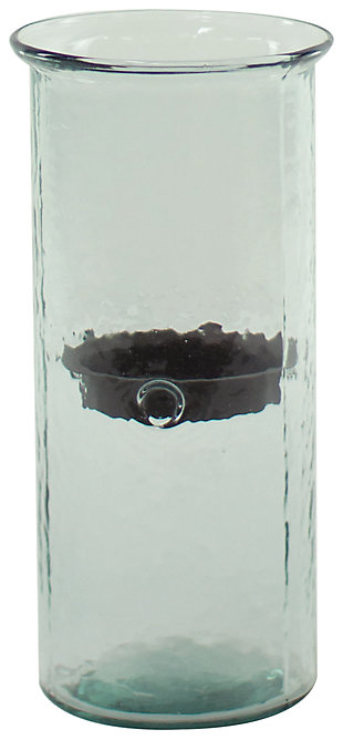 Home Accents Candle Holder, Transparent, large
