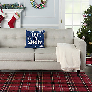Christmas Mina Victory Holiday Throw Pillow, , rollover