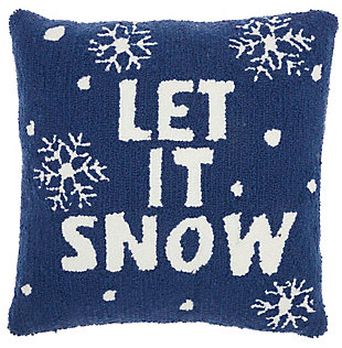 Christmas Mina Victory Holiday Throw Pillow, , large