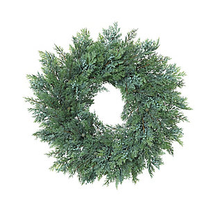 Christmas 22-Inch Cedar Wreath with Berry Accents, , large