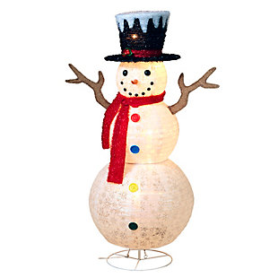 Christmas 48-Inch Lighted Decorative Snowman, , rollover