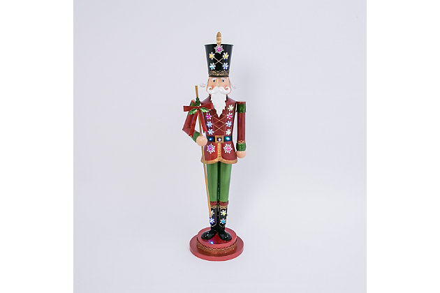 Christmas Metal Toy Solidier Indoor/Outdoor Holiday Décor, , large