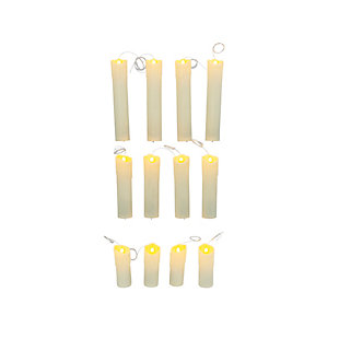 "Halloween Battery Operated ""Floating"" Hanging Candles (Set of 12), , large"