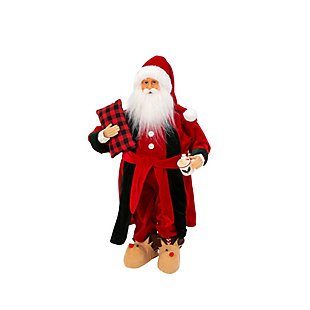 Christmas 2Ft. Holiday Santa Figurine, , large
