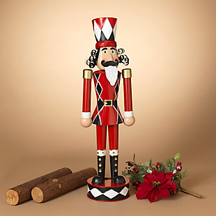 Christmas 33.8-Inch Metal Toy Solider, , rollover