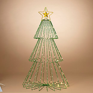 Christmas 41-Inch Collapsible Tree with Remote Feature (Set of 2), , rollover
