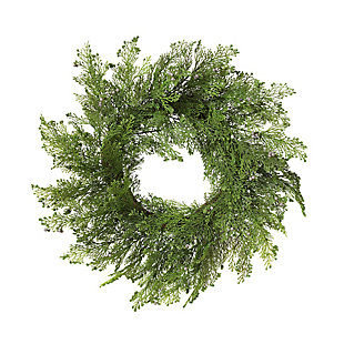 Christmas 24-Inch Cedar Wreath with Berry Accents, , large
