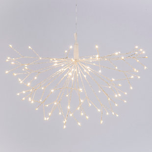 Christmas 19.68 Inch Electric Lighted Starburst with 120 LED Lights, , large