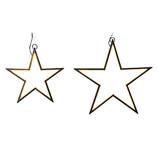 Christmas Electric LED Neon Stars (Set of 2), , large