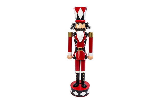 Christmas 51.75-Inch Metal Toy Solider, , large