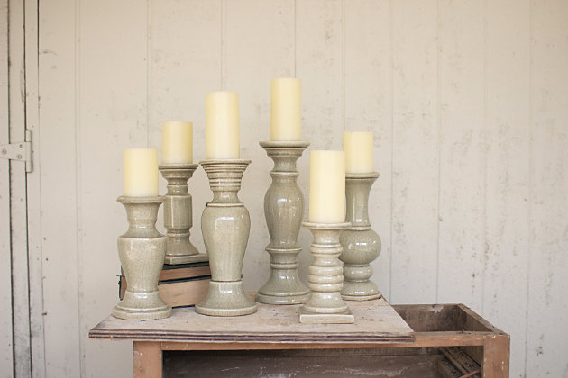 Home Accents Candle Holder (Set of 6), , large