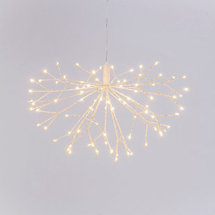 Christmas 15.75 Inch Lighted Starburst With 92 Micro Led Lights, , large