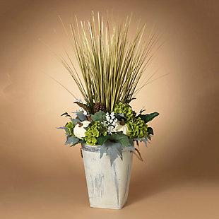 Fall 4Ft. Jumbo Harvest Floral Arrangement in Bucket, , rollover