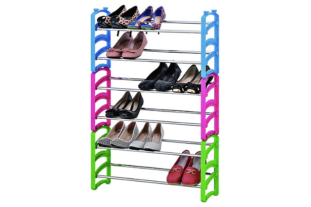 Furinno Wayar 6-Tier Shoe Rack, , large