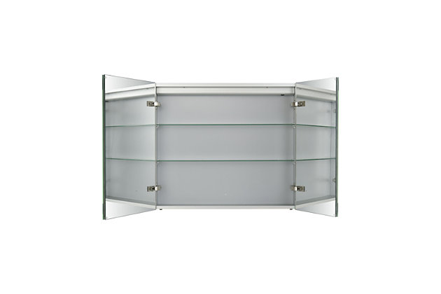 ELK Home 32 x 27-inch Mirrored Medicine Cabinet, , large