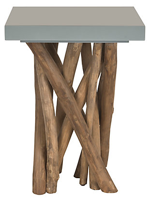 Safavieh Hatrwick Accent Table, Gray, large