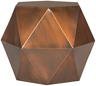 Safavieh Astrid Faceted Accent Table, , large