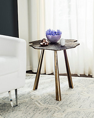 Safavieh Portia Leaf Accent Table, , rollover