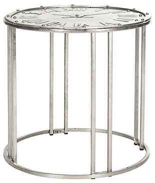 Safavieh Roman Clock End Table, , large