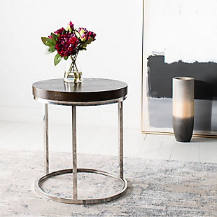 Safavieh Turner Round End Table, , rollover