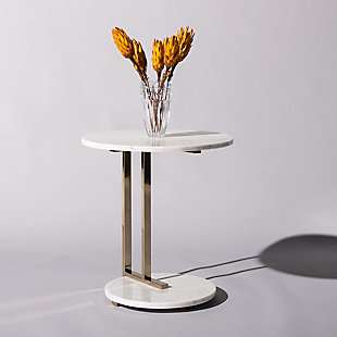 Safavieh Aphrodite Marble End Table, , rollover
