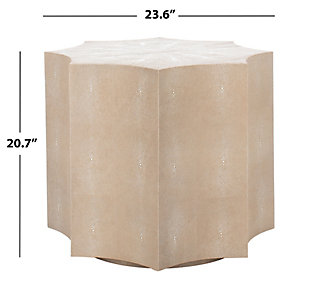 Safavieh Napa End Table, Natural, large