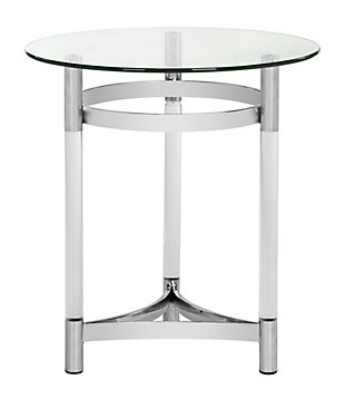 Safavieh Letty Round Acrylic End Table, , large
