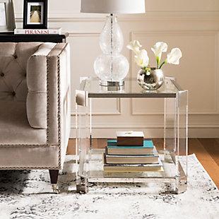 Safavieh Gianna Acrylic End Table, , rollover