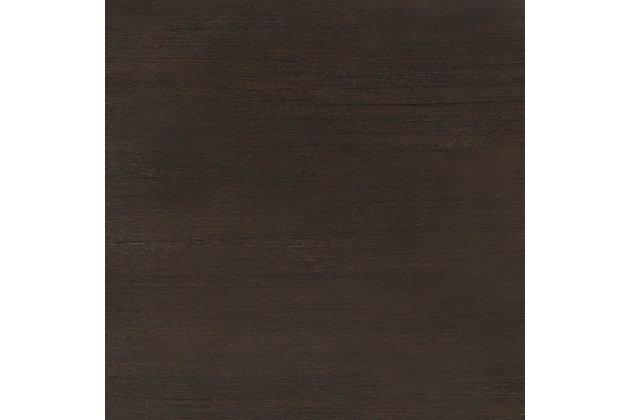 Safavieh Shannon 2 Door Chest, Dark Espresso/Mirror, large