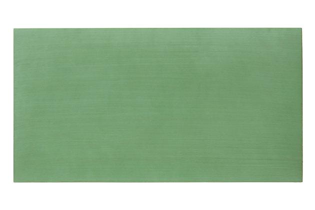 Safavieh Shannon 2 Door Chest, Turquoise/Mirror, large