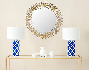 Safavieh Sunray Circle Mirror, , rollover