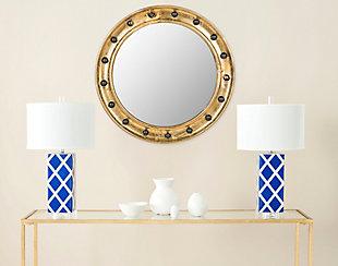 Safavieh Mariner Porthole Mirror, , rollover