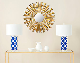 Safavieh Golden Arrows Sunburst Mirror, , rollover