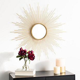 Safavieh Lorien Sunburst Mirror, , rollover