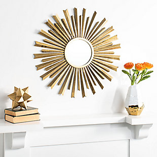 Safavieh Holland Sunburst Mirror, , rollover