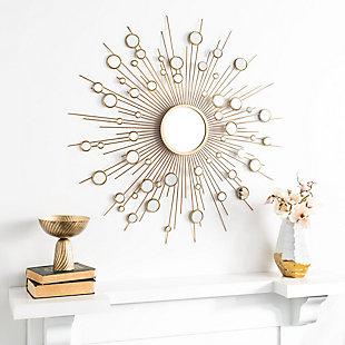 Safavieh Ariah Sunburst Mirror, , rollover