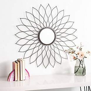 Safavieh Ravin Sunburst Mirror, , rollover