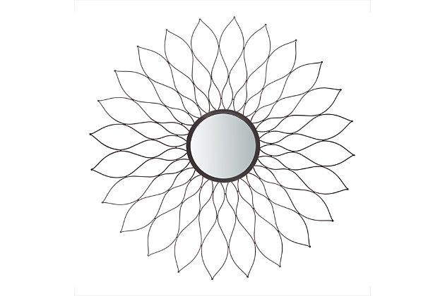 Safavieh Ravin Sunburst Mirror, , large