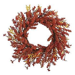"Harvest  18"" Harvest Berry Artificial Wreath, , large"