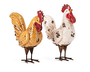 Imax Parson Roosters (Set of 2), , rollover